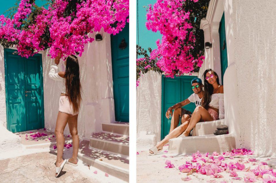 Sala kaip iš rožinio sapno | Santorini, Greece