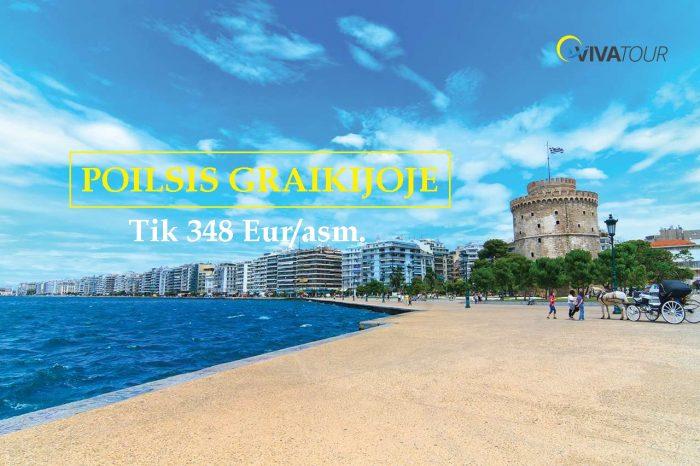 GRAIKIJA 😍8 n. trukmės kelionė autobusu – Poilsis Graikijos Olimpinėje Rivjeroje tik už348Eur/asm.👌