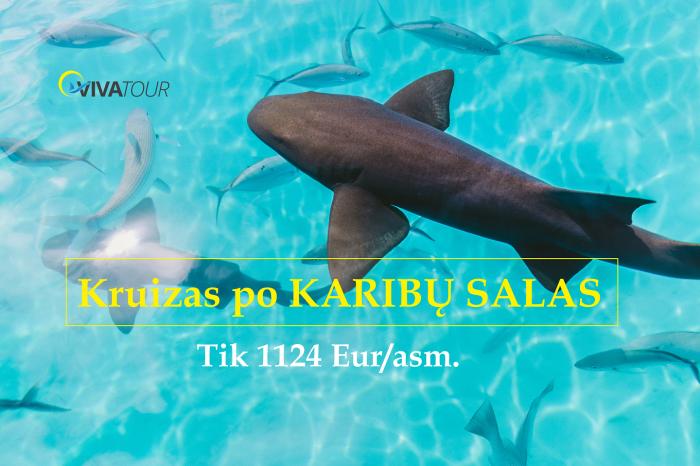 KARIBŲ SALOS 🍒Nuostabus kruizas aplankant Jamaiką, Meksiką, Bahamus bei Kaimanų salas#viskasįskaičiuotasoftmaitinimo sistema tik nuo 1124 Eur/asm.🤩
