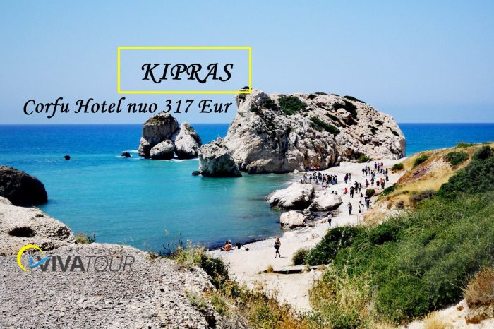 K I P R A S🌴7 n. Poilsis Kipre pačioje Agia Napa širdyje! Jaukiame Corfu Hotel⭐⭐⭐viešbutyje supusryčiais ir vakarienetik nuo 317 Eur/asm