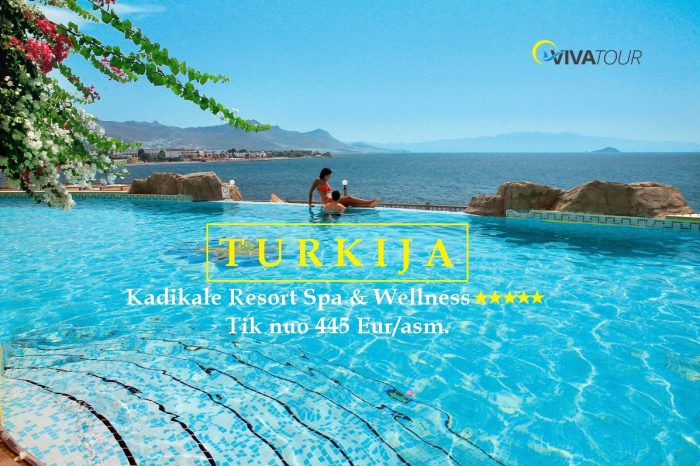 TURKIJA ✨7 n. Kadikale Resort SPA & Wellness⭐⭐⭐⭐⭐viešbutyje su#viskasįskaičiuotamaitinimo sistema tik nuo445Eur/asm.🍀