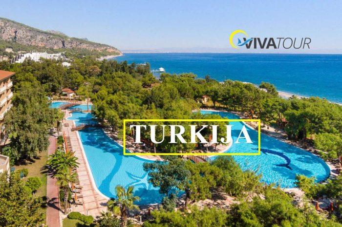 Populiarus Turkijos viešbutis AKKA ANTEDON 5* 7n. su UAI, TIK NUO 239 €/asm