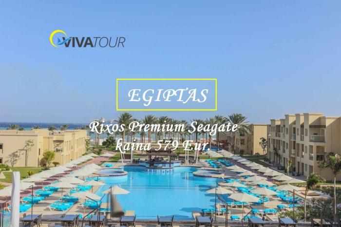 Tobulų atostogų garantas7 n.Egipte, Rixos Premium Seagate⭐⭐⭐⭐⭐viešbutyje su#ultraviskasįskaičiuotatik nuo 579 Eur/asm.