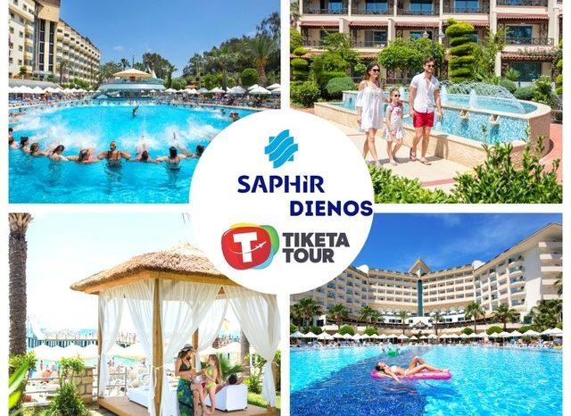 Geriausios kainos į taip pamėgtus viešbučius! Saphir Hotel 4*