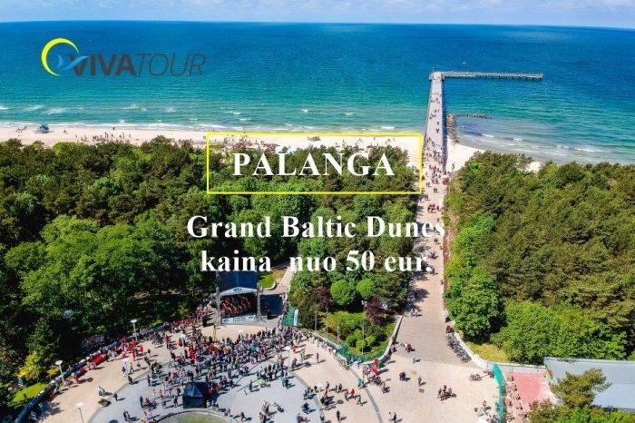 Atostogos Lietuvoje Palangoje !Viešbutyje Grand Baltic Dunes 4*+ para nuo 50 eur dviems asmenims.