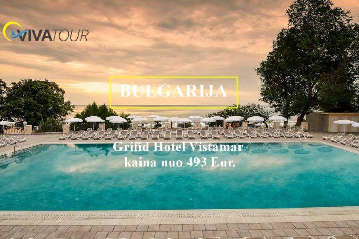 Atostogos Bulgarijoje Grifid Hotel Vistamar⭐⭐⭐⭐viešbutyje su ultraviskasįskaičiuota tik nuo 493 Eur/asm.